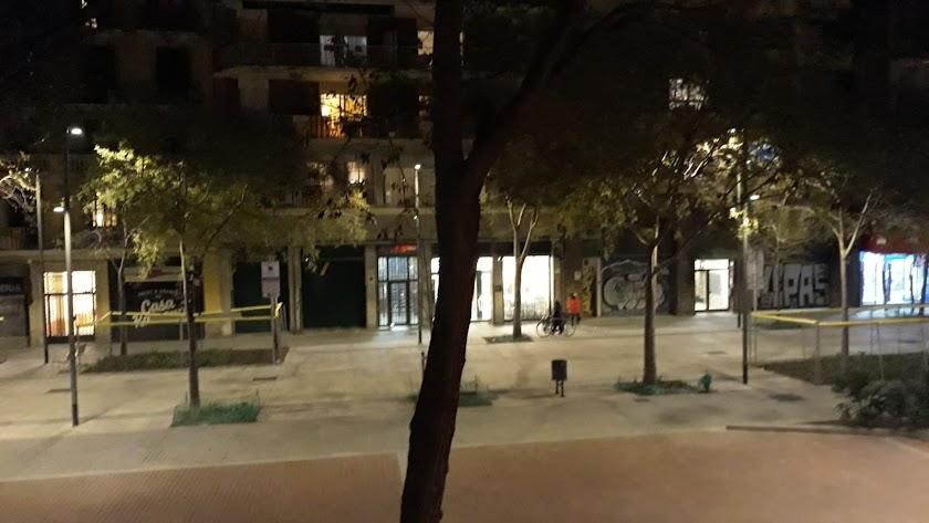 Cacerolada en Barcelona contra el Rey durante su mensaje.