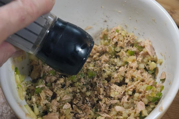 Toss to combine, and add some salt and pepper, to taste.