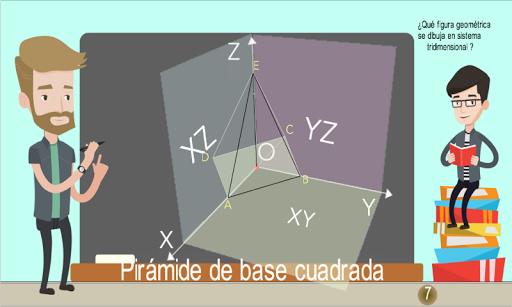 Coordenadas 3D Piru00e1mides 1.0.0 screenshots 6