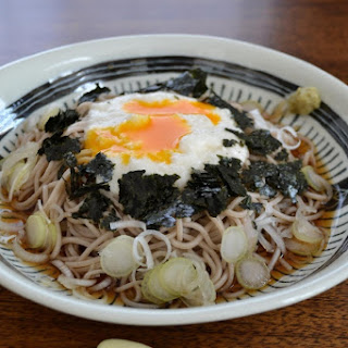 Cold Tororo Soba Noodles