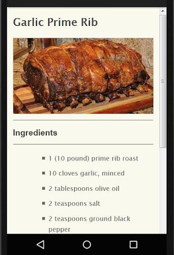 Holiday Party Recipes screenshot 21