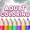 Adult Coloring Book Premium icon