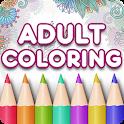 Adult Coloring Book Premium icon