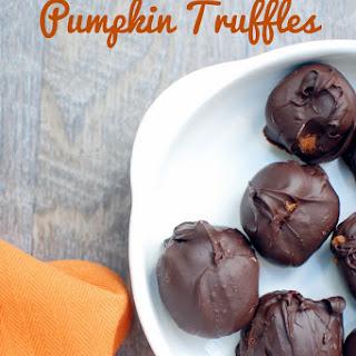Pumpkin Truffles {No Bake + Dairy Free!}