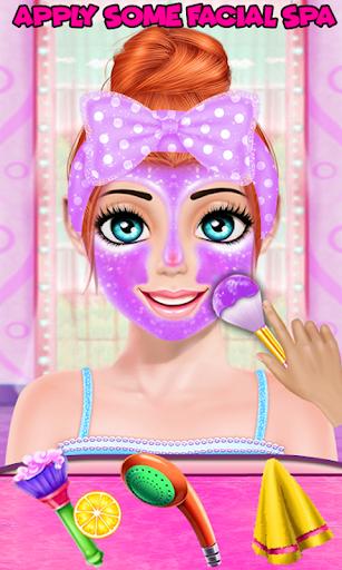 Cute Girl Makeup Salon Game: Face Makeover Spa apkmr screenshots 1