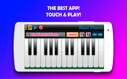 Real Piano - The Best Piano Simulator 3.22 screenshots 6