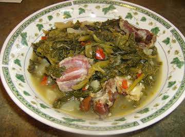 Rose's  Southern  Cooked Mustard & Turnip Greens