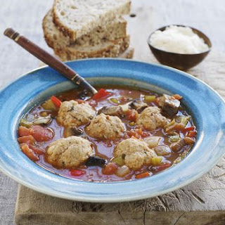 Old-Fashioned Slow Cooker Meatball Stew.