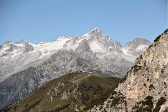 Photo: Dos sabion e #presanella con monte Gabbiolo