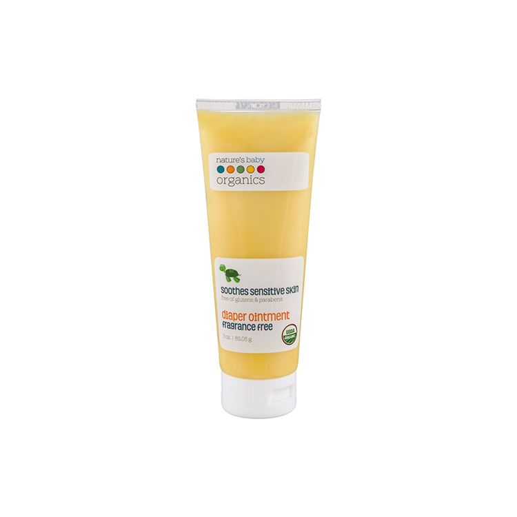 Nature's Baby Organics Organic Diaper Ointment 3oz -­ Fragrance Free USDA 95% by GREEN WHEEL INTERNATIONAL SDN BHD