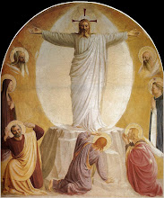 Photo: Title: Transfiguration Artist: Fra Angelico Medium: Fresco Size: 93 x 164 cm Date: 1440-41 Location: Convento di San Marco, Florence. http://iconsandimagery.blogspot.com/2009/07/transfiguration_13.html