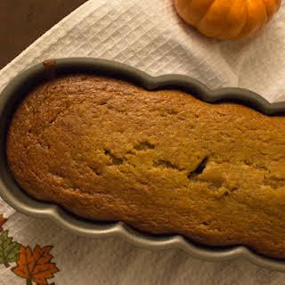 Applesauce Pumpkin Bread.