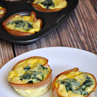 Turkey, Egg, Spinach & Cheese Mini Quiche