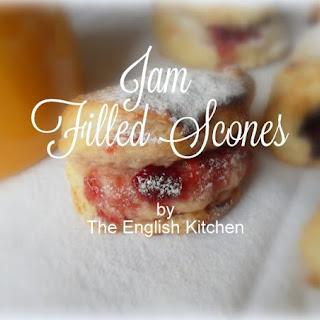 Jam Filled Scones Recipe
