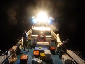 Photo: 今年初の「イカ釣り」での出航! はりきっていきましょ!