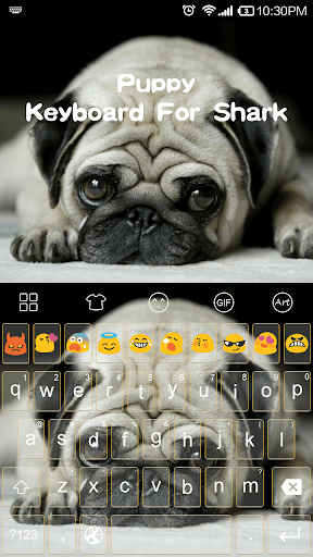 Puppy Dog -Emoji Gif Keyboard