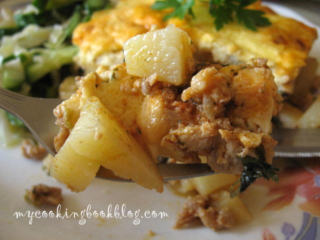 Мусака с кайма и картофи