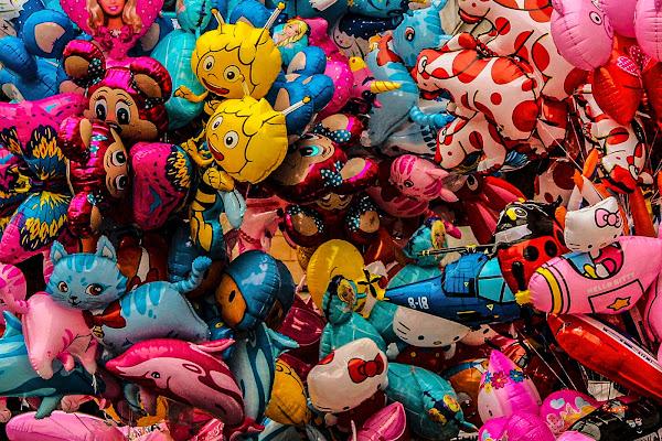 Palloncini molto colorati di gatta66