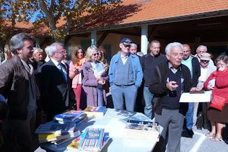Photo: ... par Monsieur Pettiti, Président de Notre Ecole ...