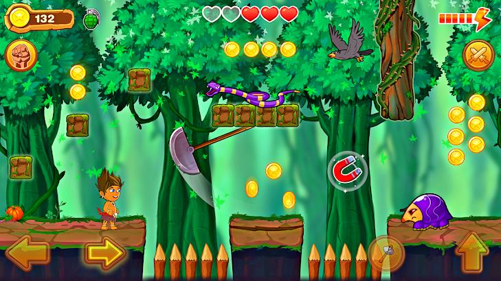 Jungle Run Reloaded screenshot