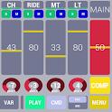 Cadeli drum machine free icon
