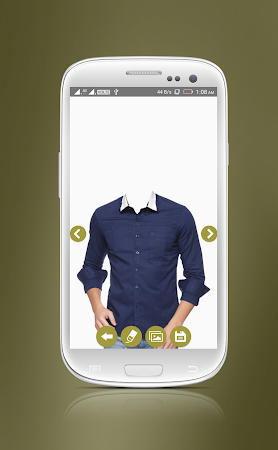 Man Casual Shirt Photo Suit 1.8 screenshot 2092297