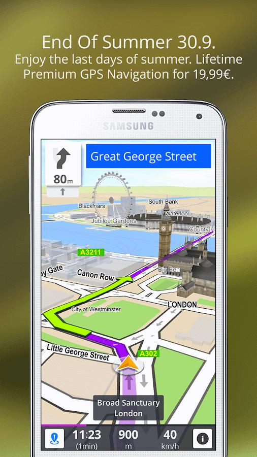GPS Navigation & Maps Sygic- screenshot