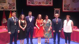 Investidura de Francisca Fernández como alcaldesa de Huércal-Overa.