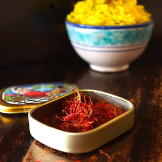 Saffron Basmati Rice Recipe with Fresh Dill