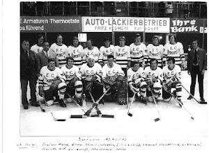 Photo: 1972/73: Mannschaftsfoto