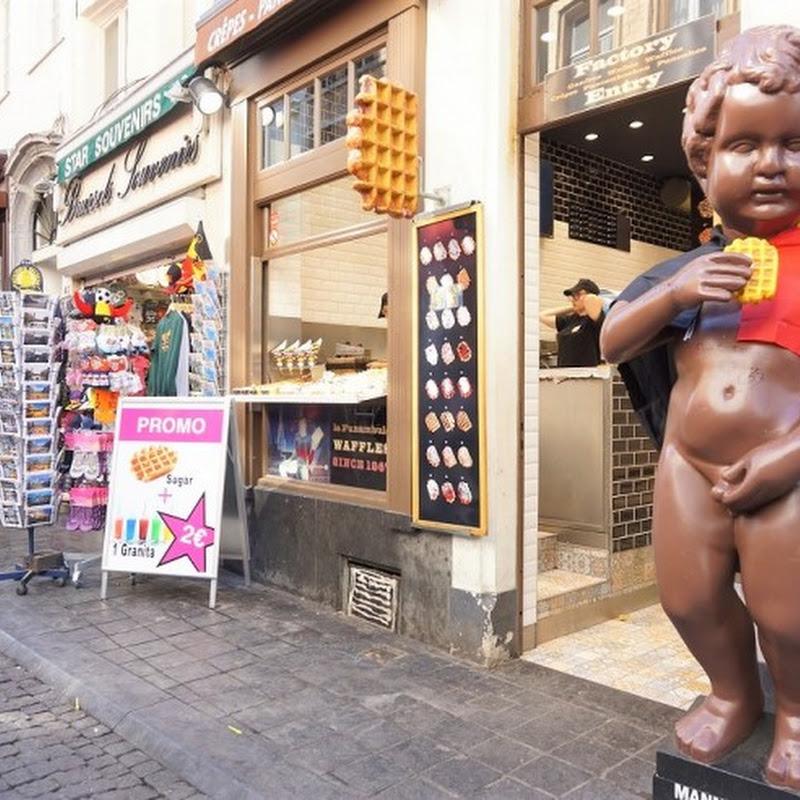 ブリュッセル風とリエージュ風を食べ比べ!ベルギーの首都ブリュッセルにある焼きたてベルギーワッフルの専門店「WAFFLE factory」
