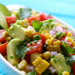 Florida Corn, Tomato, and Avocado Salsa