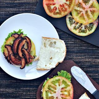 Crispy Shiitake BLT Sandwich