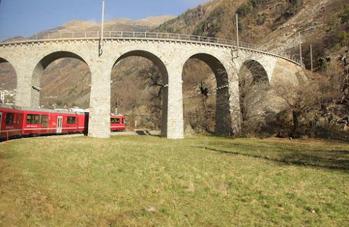 Trenino del Bernina di alessiaberetta