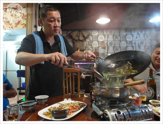 酸菜蛤仔湯