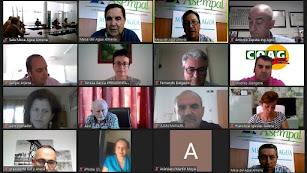 Reunión virtual de la Mesa del Agua con la consejera Carmen Crespo