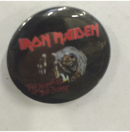 Iron Maiden - Number - Badge