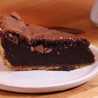 Chocolate Chess Pie.