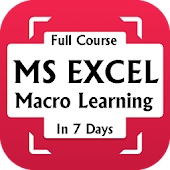 Learn MS Excel Macro - Complete Course