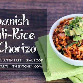 Spanish Cauli-Rice with Chorizo