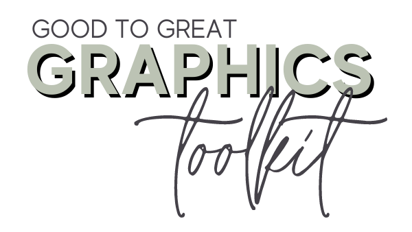 Good To Great Graphic Toolkit - Text Logo