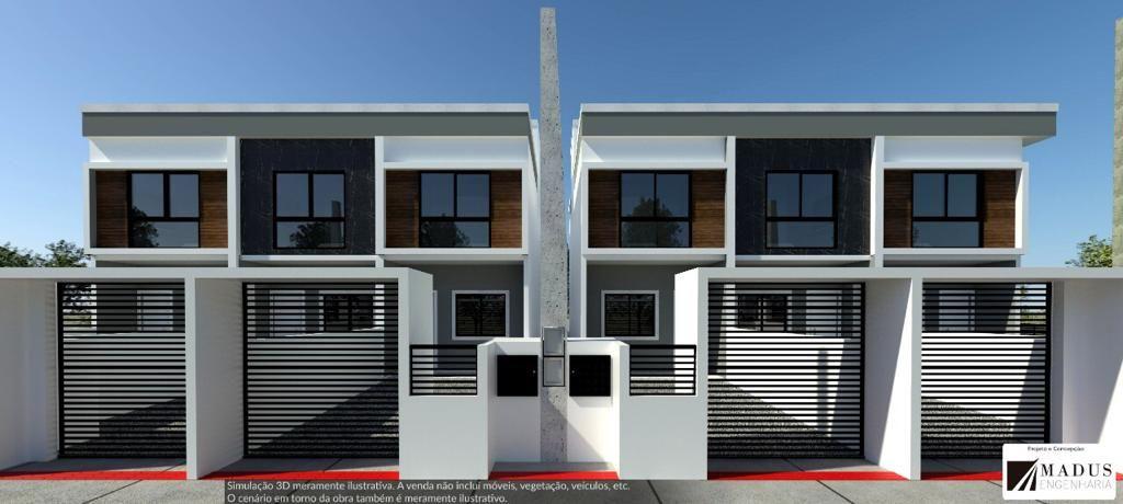 Sobrado com 2 dormitórios à venda, 70 m² por R$ 205.000,00 - Universitário - Tijucas/SC