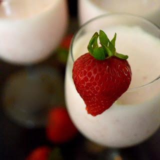 Greek Yogurt Strawberry Bellini