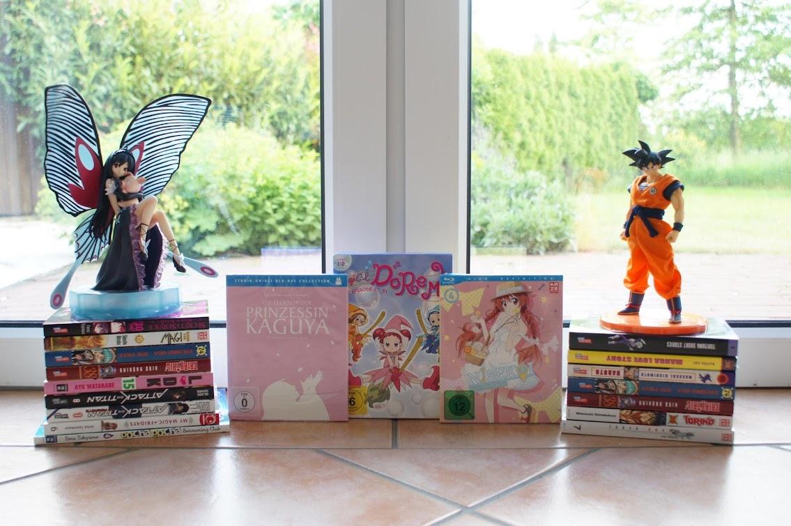 Loot Mai Japantag 2015 Ghibli Dragonball Nisekoi One Piece Fairy Tail Naruto