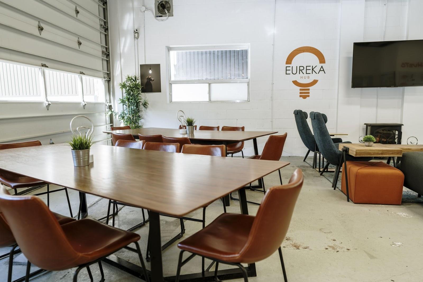 Eureka Hub Coworking Space in Toronto