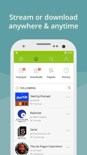 Podcast App & Podcast Player - Podbean screenshots 2