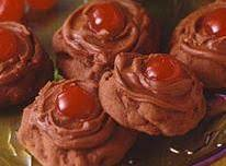 Chocolate Cherry Drops Recipe