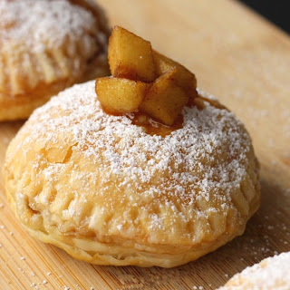 Yummy Apple Pie Puff Pastry Donuts.