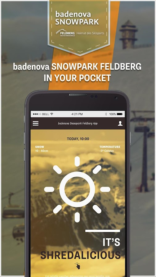 badenova Snowpark Feldberg- screenshot