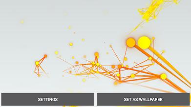 Abstract Plexus Live Wallpaper screenshot thumbnail